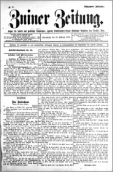Zniner Zeitung 1905.02.18 R.18 nr 14