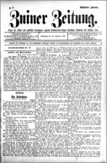 Zniner Zeitung 1905.02.22 R.18 nr 15