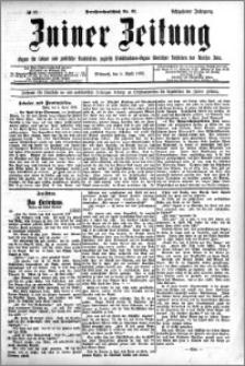 Zniner Zeitung 1905.04.05 R.18 nr 27
