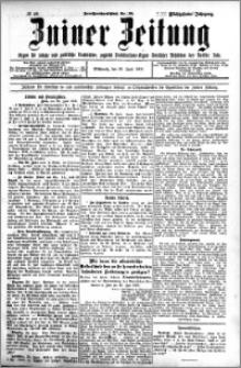 Zniner Zeitung 1905.06.28 R.18 nr 49