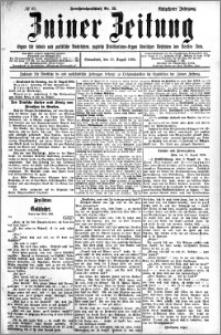 Zniner Zeitung 1905.08.12 R.18 nr 62