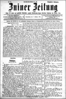 Zniner Zeitung 1905.10.07 R.18 nr 78