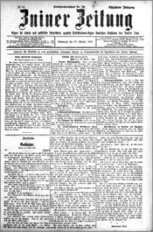 Zniner Zeitung 1905.10.18 R.18 nr 81