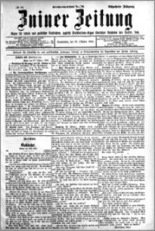 Zniner Zeitung 1905.10.28 R.18 nr 84