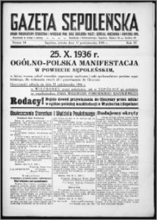 Gazeta Sępoleńska 1936, R. 10, nr 84