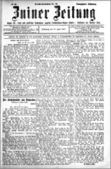 Zniner Zeitung 1906.06.27 R.19 nr 49