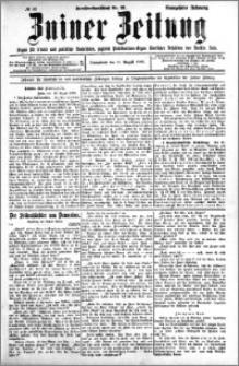Zniner Zeitung 1906.08.11 R.18 nr 62