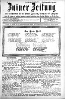 Zniner Zeitung 1908.01.25 R. 21 nr 8