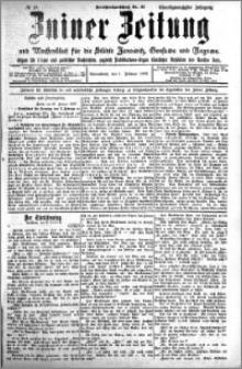 Zniner Zeitung 1908.02.01 R. 21 nr 10