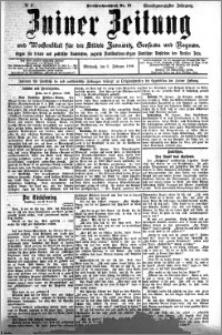 Zniner Zeitung 1908.02.05 R. 21 nr 11