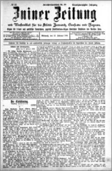Zniner Zeitung 1908.02.12 R. 21 nr 13