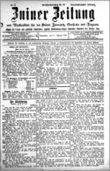 Zniner Zeitung 1908.02.15 R. 21 nr 14