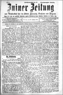 Zniner Zeitung 1908.02.26 R. 21 nr 17
