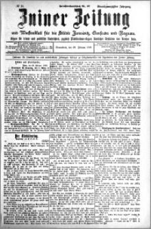 Zniner Zeitung 1908.02.29 R. 21 nr 18