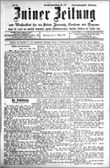 Zniner Zeitung 1908.03.04 R. 21 nr 19