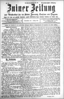 Zniner Zeitung 1908.03.07 R. 21 nr 20