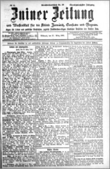 Zniner Zeitung 1908.03.11 R. 21 nr 21