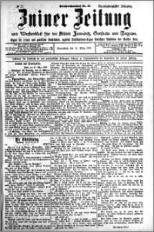 Zniner Zeitung 1908.03.14 R. 21 nr 22