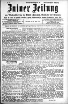 Zniner Zeitung 1908.03.18 R. 21 nr 23