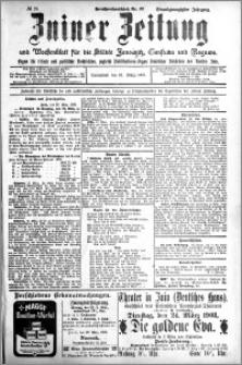 Zniner Zeitung 1908.03.21 R. 21 nr 24