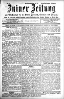 Zniner Zeitung 1908.03.25 R. 21 nr 25