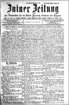 Zniner Zeitung 1908.04.04 R. 21 nr 28