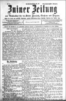 Zniner Zeitung 1908.04.29 R. 21 nr 35