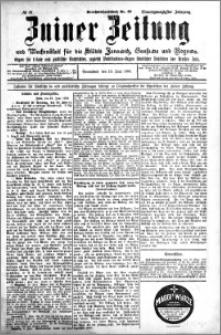 Zniner Zeitung 1908.06.13 R. 21 nr 47