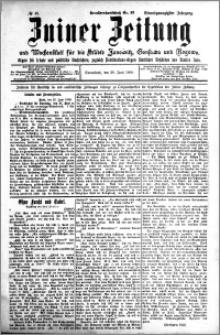 Zniner Zeitung 1908.06.20 R. 21 nr 49