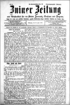Zniner Zeitung 1908.06.24 R. 21 nr 50