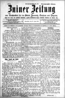 Zniner Zeitung 1908.06.27 R. 21 nr 51