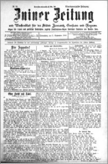 Zniner Zeitung 1908.09.05 R. 21 nr 71