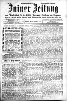 Zniner Zeitung 1908.09.23 R. 21 nr 76