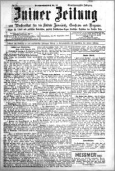 Zniner Zeitung 1908.09.26 R. 21 nr 77