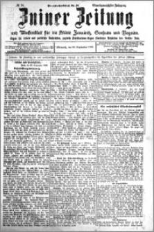 Zniner Zeitung 1908.09.30 R. 21 nr 78