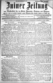 Zniner Zeitung 1909.02.13 R. 22 nr 13