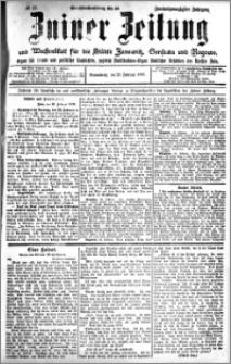 Zniner Zeitung 1909.02.27 R. 22 nr 17