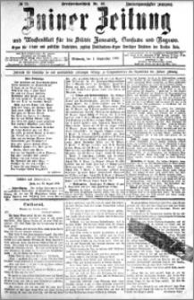 Zniner Zeitung 1909.09.01 R. 22 nr 70