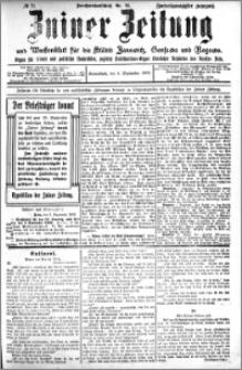Zniner Zeitung 1909.09.04 R. 22 nr 71