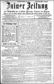 Zniner Zeitung 1909.09.08 R. 22 nr 72