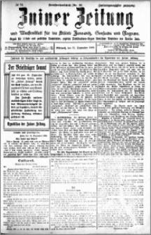 Zniner Zeitung 1909.09.15 R. 22 nr 74