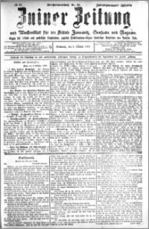 Zniner Zeitung 1909.10.06 R. 22 nr 80