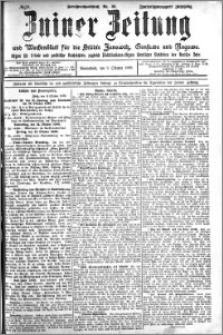 Zniner Zeitung 1909.10.09 R. 22 nr 81