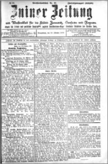 Zniner Zeitung 1909.10.16 R. 22 nr 83
