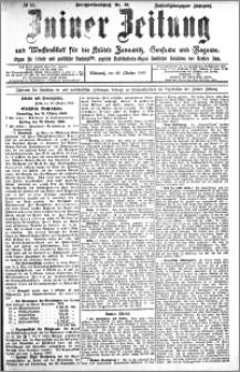 Zniner Zeitung 1909.10.20 R. 22 nr 84