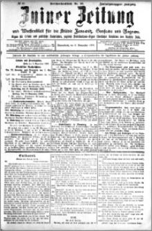 Zniner Zeitung 1909.11.06 R. 22 nr 89