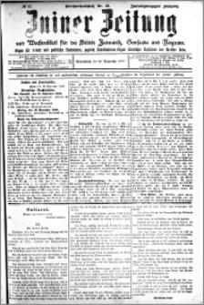 Zniner Zeitung 1909.11.20 R. 22 nr 93