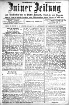 Zniner Zeitung 1909.11.24 R. 22 nr 94