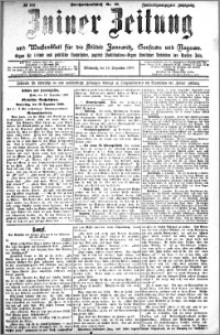 Zniner Zeitung 1909.12.15 R. 22 nr 100