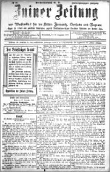 Zniner Zeitung 1909.12.18 R. 22 nr 101